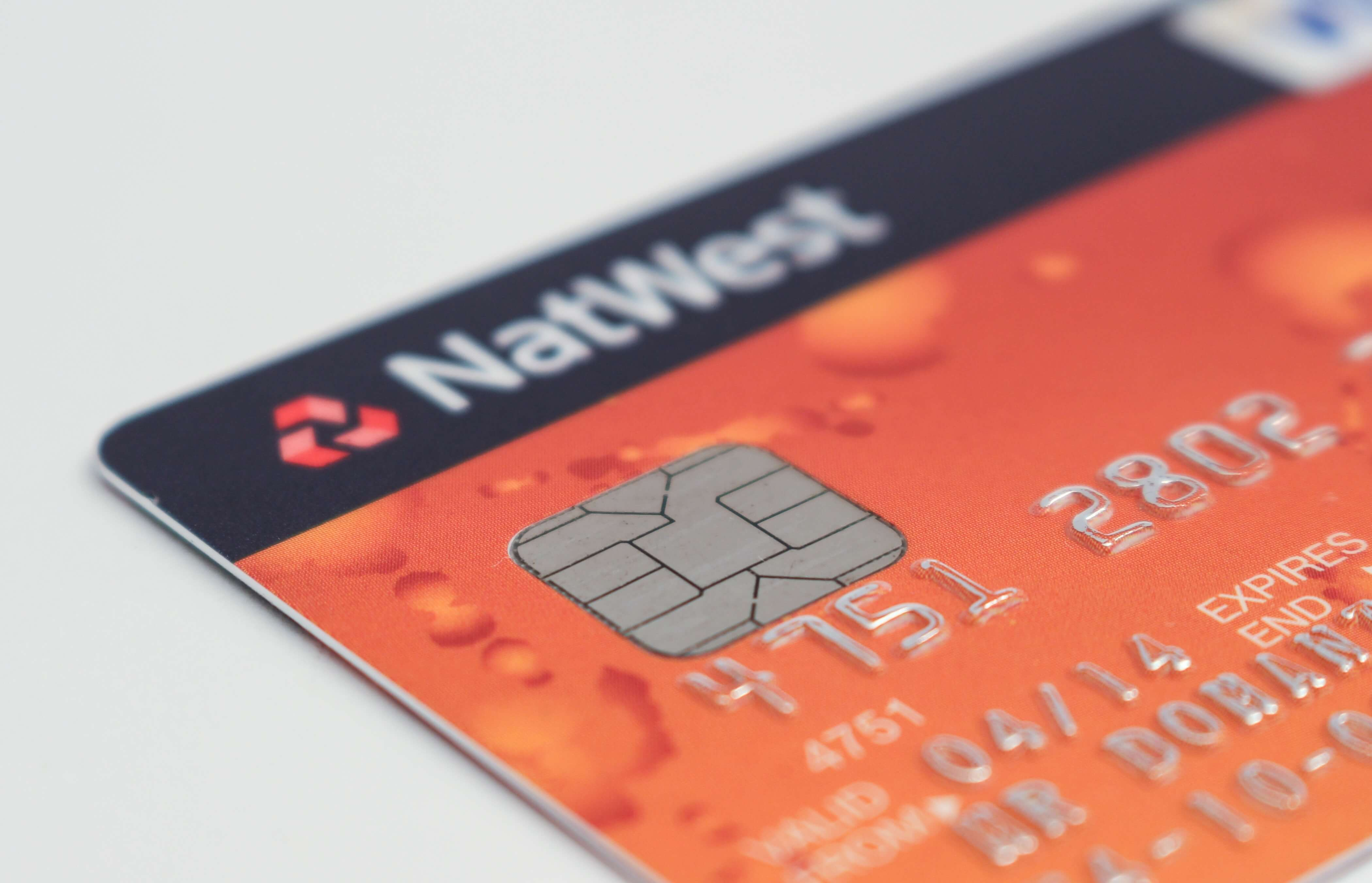 image of natwest card